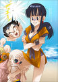 Goku & Chichi - dragon-ball-love fan art