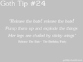 Goth Tip #24 - gothic fan art