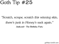 Goth Tip #25 - gothic fan art