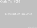 Goth Tip #29 - gothic fan art