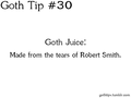 Goth Tip #30 - gothic fan art