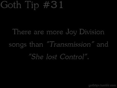 Goth Tip #31