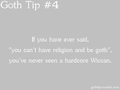Goth Tip #4 - gothic fan art