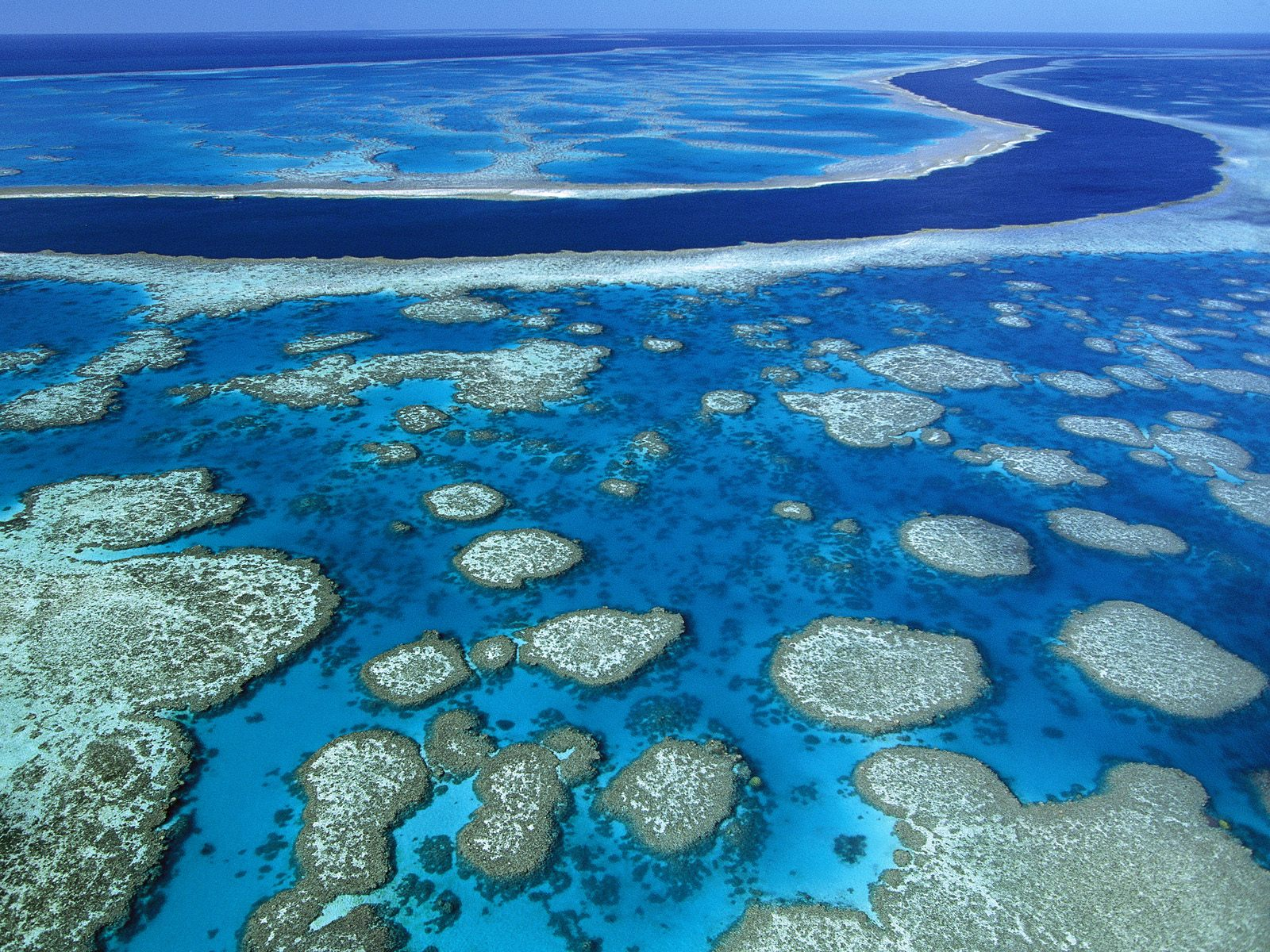Australia great barrier reef marine park queensland