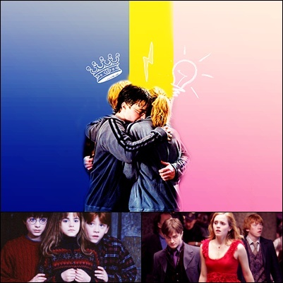 Harry Potter vs Chạng vạng hình nền probably with a buổi hòa nhạc titled HP Friendship <333