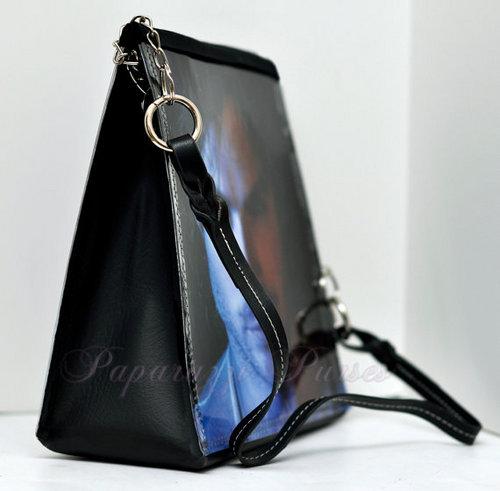 Handmade Upscale Vampire Diaries tas, dompet
