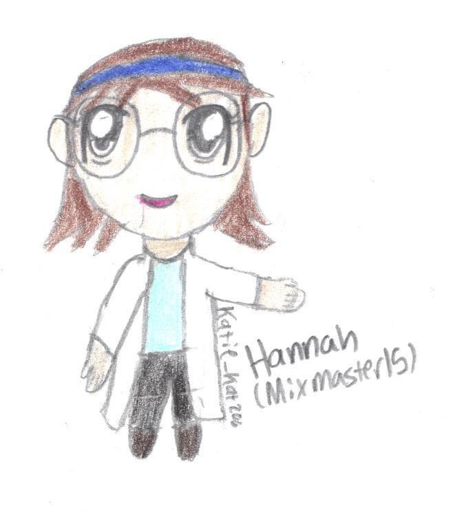 Hannah (chibi-ized) :D
