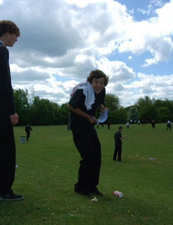 Harry in school<3