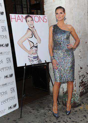 Heidi Klum Hamptons July 4th Issue Cover Celebration 29 06 2011