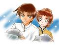 Heiji and Kazuha