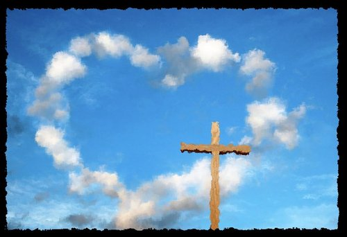 His Faithfulness Reaches To the Clouds...