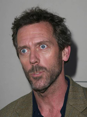 Hugh Laurie wallpaper probably containing a business suit and a portrait titled Hugh Laurie