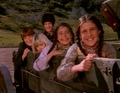 In the wagon - carrie-and-cassandra-ingalls photo