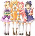 Ino,Naruko,Sakura,Hinata