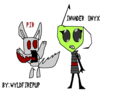 Invader Onyx - invader-zim-roleplaying fan art