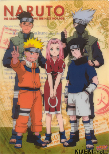 Iruka and Team 7