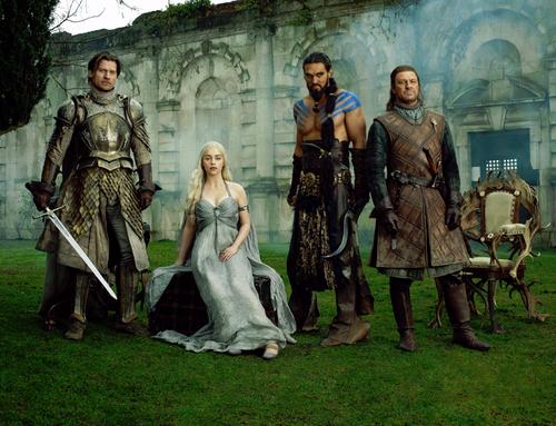 Jaime, Dany, Drogo & Ned