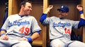 Jamey Carroll and Trent Oeltjen - los-angeles-dodgers photo