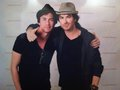 Jamie Christlow & Ian Mystic Love Convention - the-vampire-diaries-tv-show photo