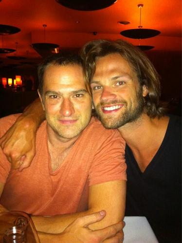 Jared and his manager Dan Spilo