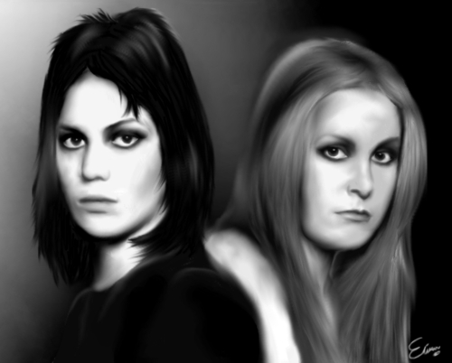 Joan and Lita Fanart