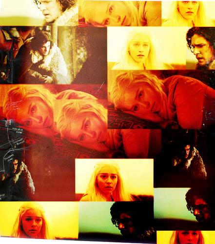 Jon & Daenerys wallpaper titled Jon & Daenerys