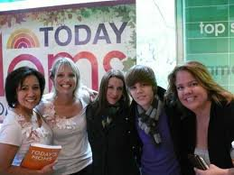 Justin Bieber and family