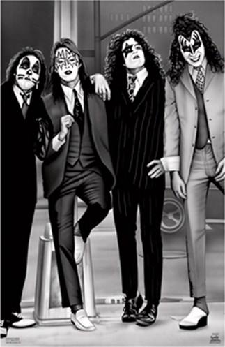 KISS wallpaper called KISS ~ Dressed to Kill
