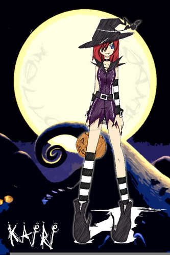Kairi in holloween town