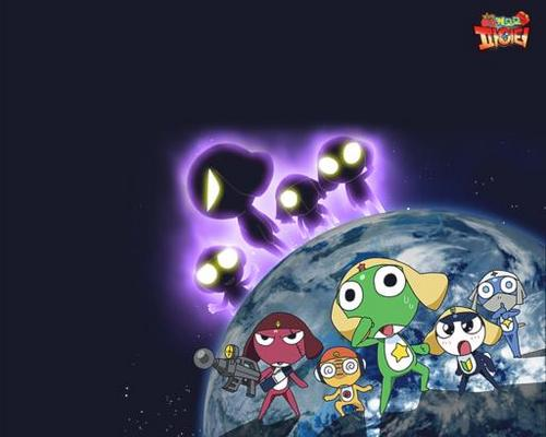 Sgt. Frog (Keroro Gunso) wallpaper called Keroro Gunso