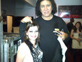 Lacey and Gene Simmons - flyleaf photo