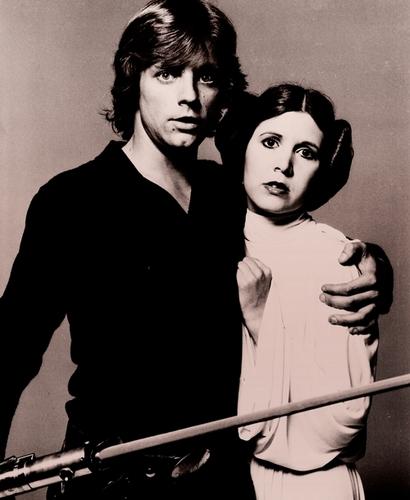 Leia and Luke