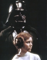 Leia and Vader - the-skywalker-family photo