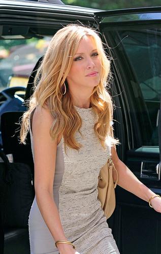 Leighton, Selena & Katie arrive at the Monte Carlo Press Junket in NY, June 30