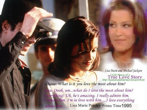 Lisa sinabi about Michael Jackson