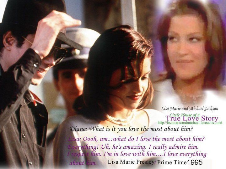 Lisa Marie Presley And Michael Jackson You Are Not Alone ...