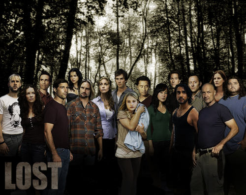 Lost Cast Poster New - lost Photo