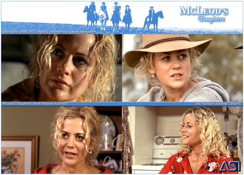 McLeod's Daughters - Jodi brunnen (Rachael Carpani)