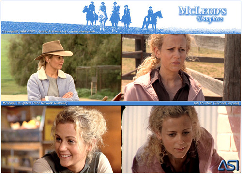 McLeod's Daughters - Jodi brunnen (Rachael Carpani)