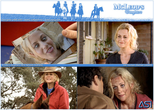 McLeod's Daughters - Jodi fontana (Rachael Carpani)