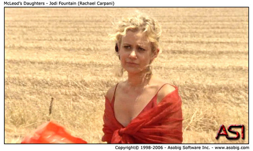 McLeod's Daughters - Jodi fontein (Rachael Carpani)