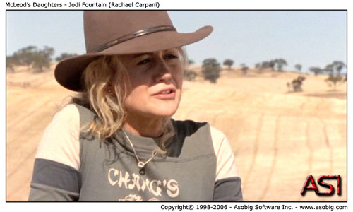 McLeod's Daughters - Jodi 噴水 (Rachael Carpani)
