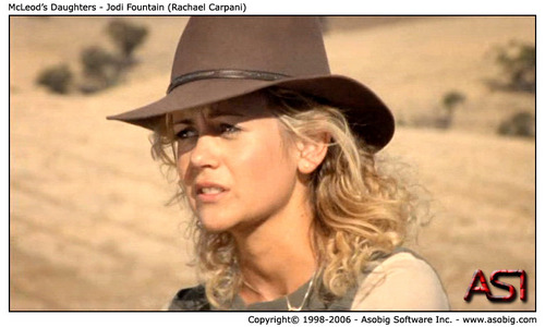 McLeod's Daughters - Jodi 분수 (Rachael Carpani)