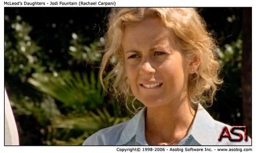 McLeod's Daughters - Jodi фонтан (Rachael Carpani)