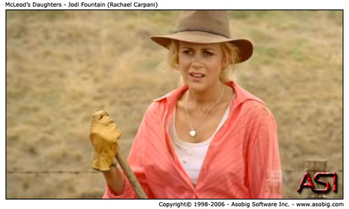 McLeod's Daughters - Jodi फव्वारा (Rachael Carpani)