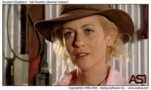 McLeod's Daughters - Jodi fontaine (Rachael Carpani)