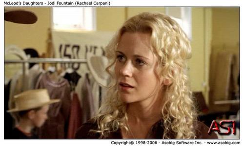 McLeod's Daughters - Jodi ফোয়ারা (Rachael Carpani)
