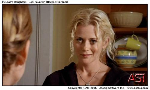 McLeod's Daughters - Jodi kisima, chemchemi (Rachael Carpani)