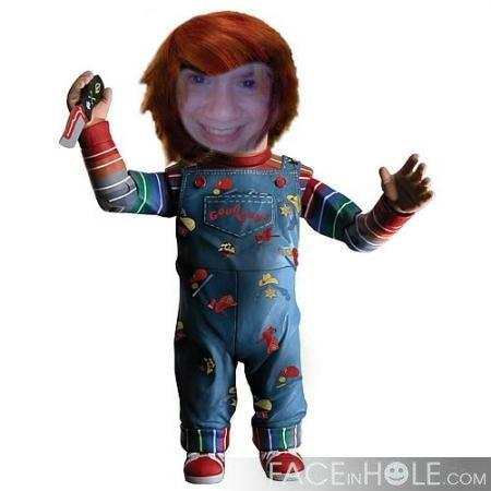 Me as Chucky