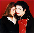Michael&Lisa - michael-jackson photo